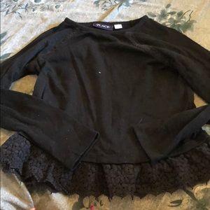 Girls black sweater